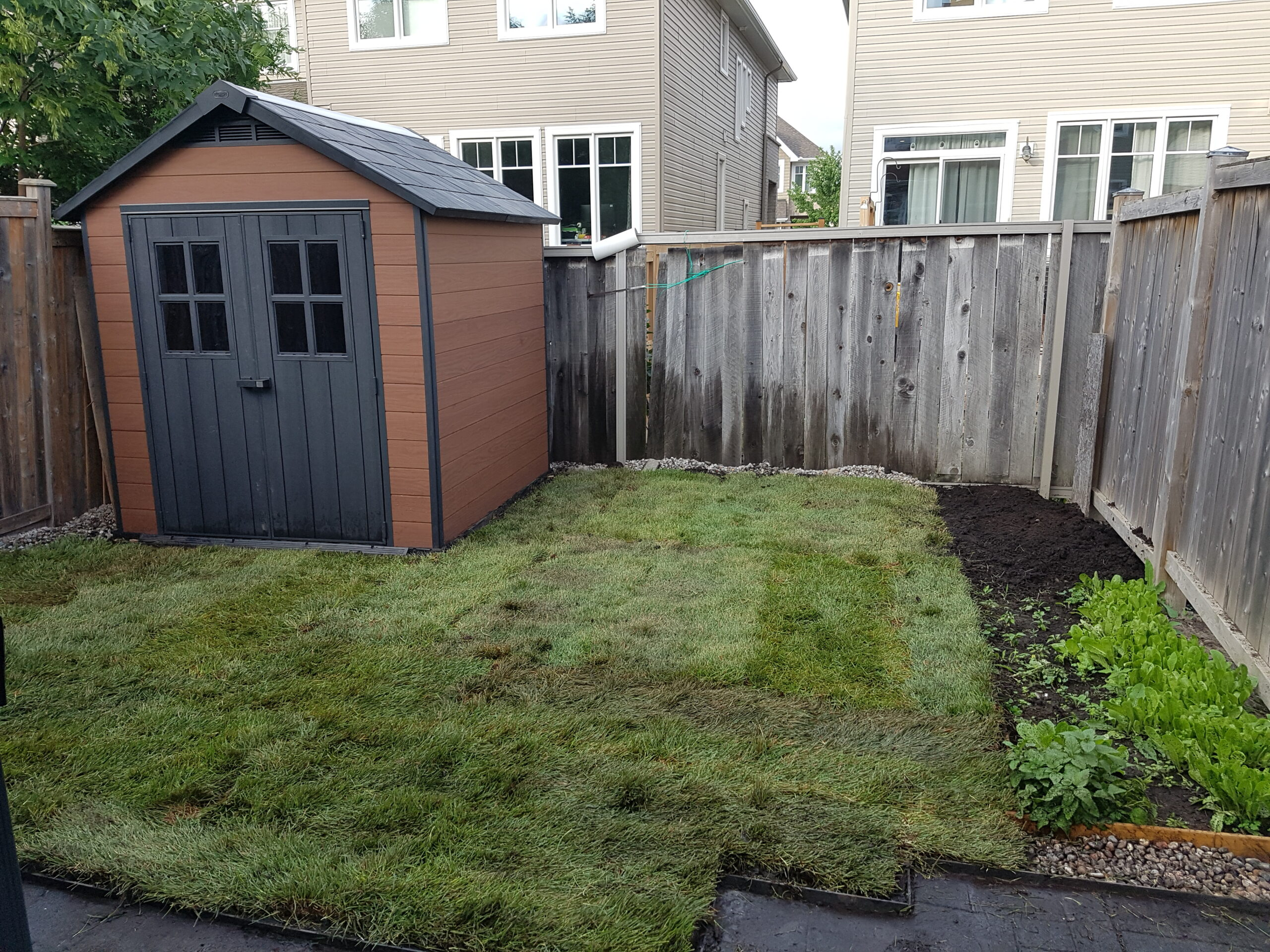 Keter Shed and Sod